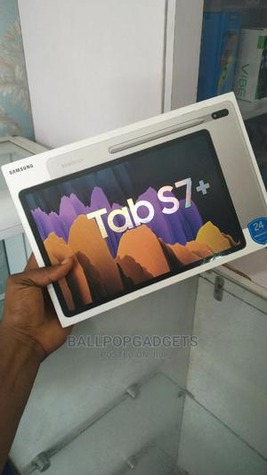 New Samsung Galaxy Tab S7+ 128 GB Silver   Tablets for sale in Lagos State, Ikeja