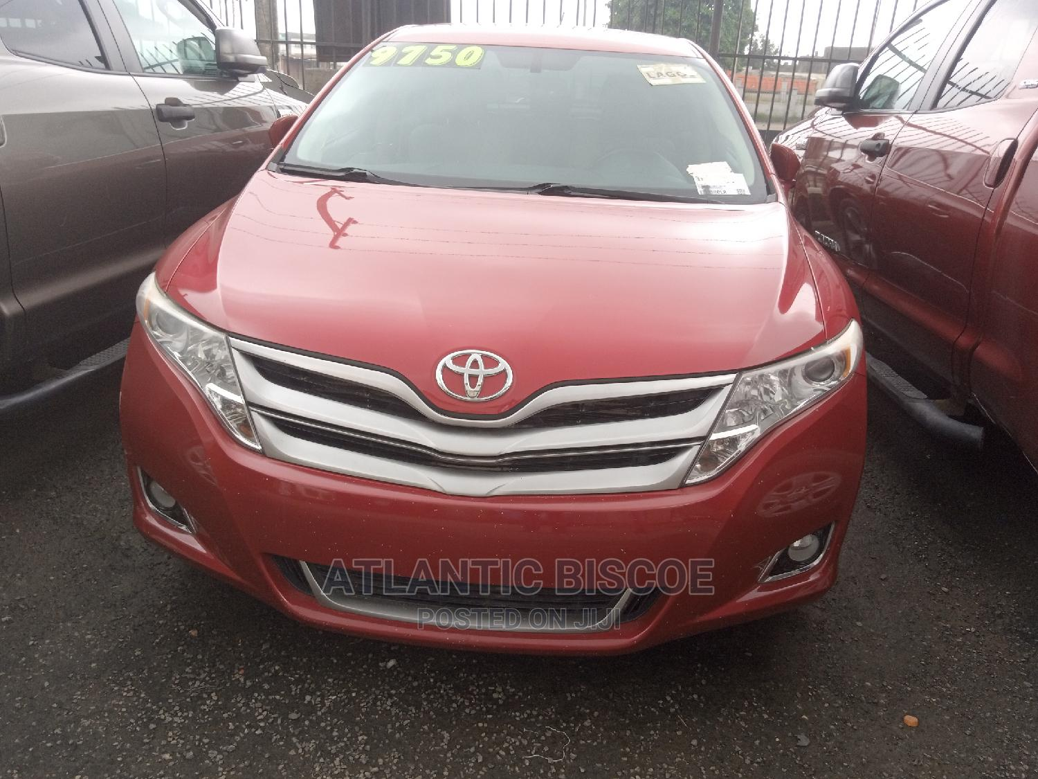 Toyota Venza 2014 Red