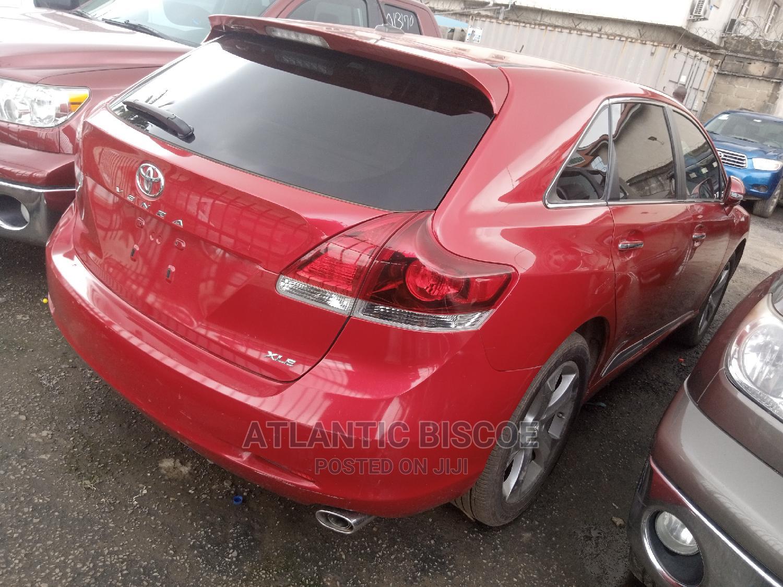 Toyota Venza 2014 Red   Cars for sale in Ojodu, Lagos State, Nigeria