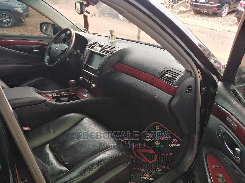 Lexus LS 2010 460 L Black   Cars for sale in Ikorodu, Lagos State, Nigeria