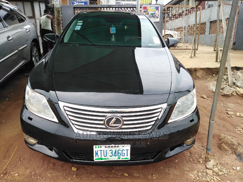 Lexus LS 2010 460 L Black