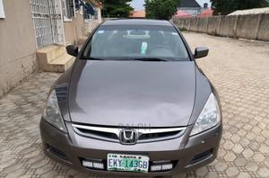 Honda Accord 2007 Sedan EX-L V-6 Automatic Gray | Cars for sale in Abuja (FCT) State, Karu