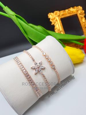Adjustable Cubic Zirconia Bracelets   Jewelry for sale in Delta State, Warri