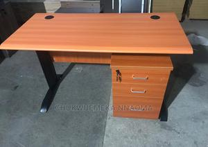 Qualityb 1.2 Meter Metal Leg Secretary Table   Furniture for sale in Lagos State, Ojo