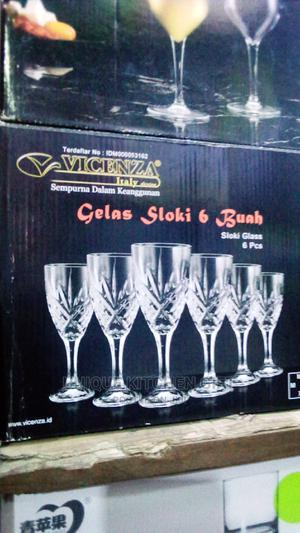 6pcs Crystal High Quality Wine Glass | Kitchen & Dining for sale in Lagos State, Lagos Island (Eko)