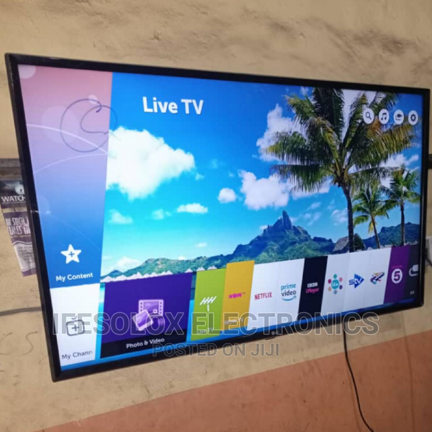 LG 43 Inch WEBOS Wifi Smart UHD LED TV - UK Used | TV & DVD Equipment for sale in Ojo, Lagos State, Nigeria