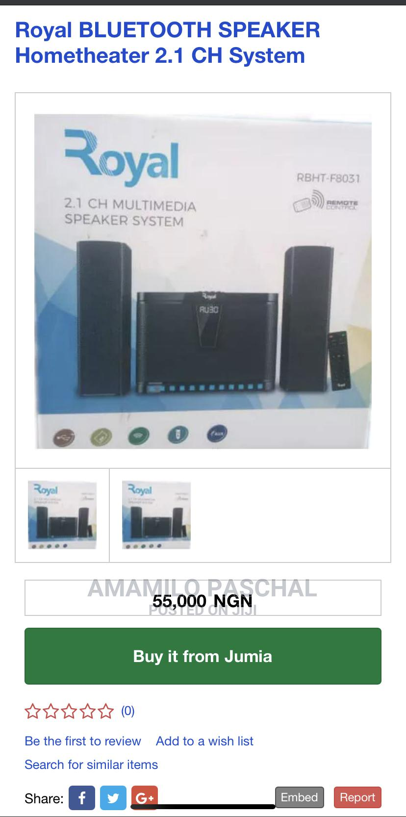 Archive: Neat Fairly Used Speaker With Active Warranty