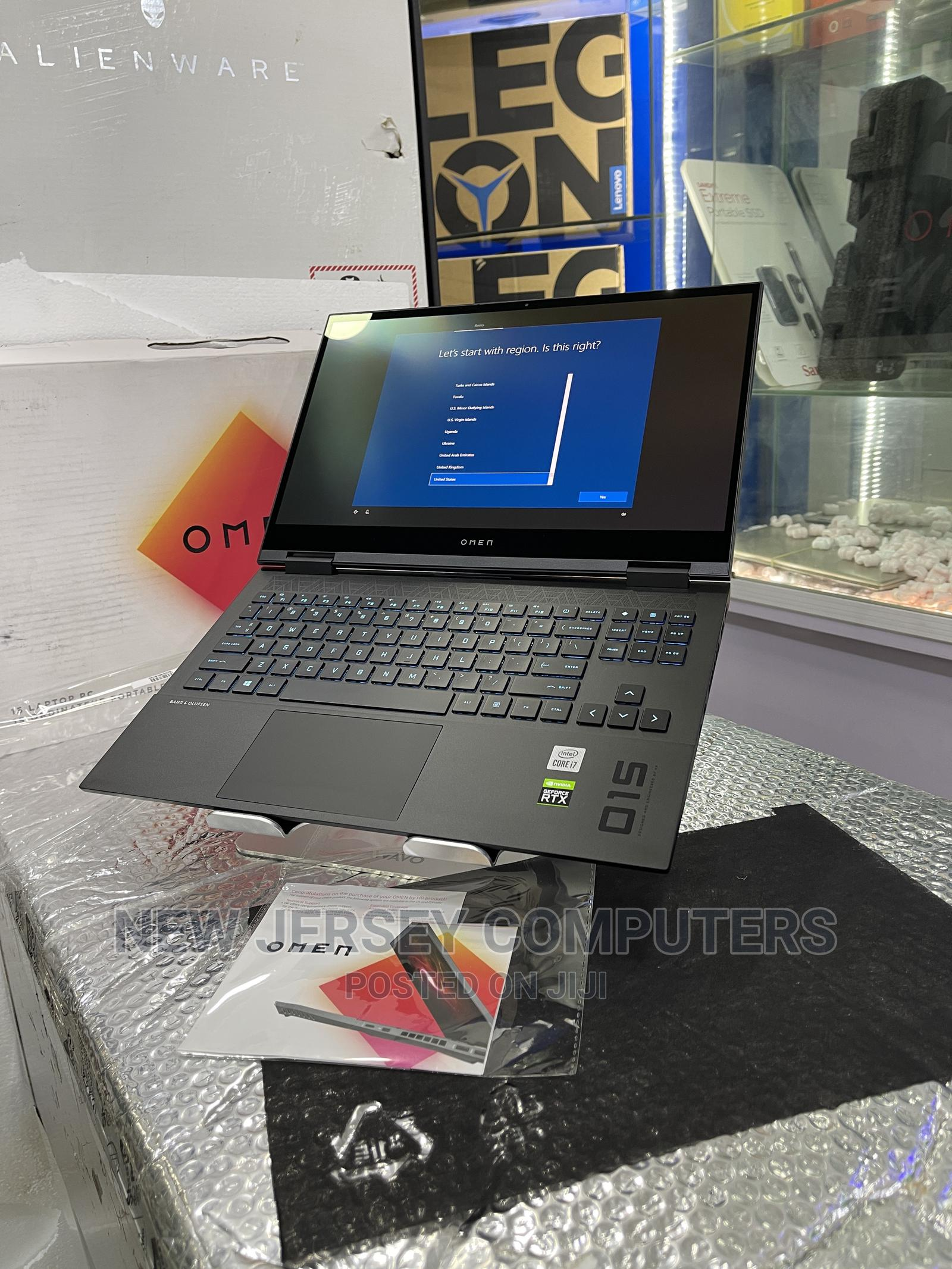 New Laptop HP Omen 15 16GB Intel Core I7 SSD 1T   Laptops & Computers for sale in Wuse, Abuja (FCT) State, Nigeria