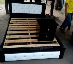 Upholstery Bedframe 41⁄2by6 | Furniture for sale in Lagos State, Lekki