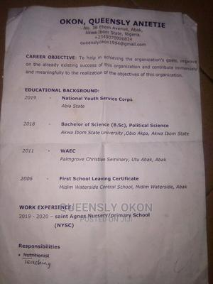 Clerical Administrative CV | Clerical & Administrative CVs for sale in Akwa Ibom State, Uyo
