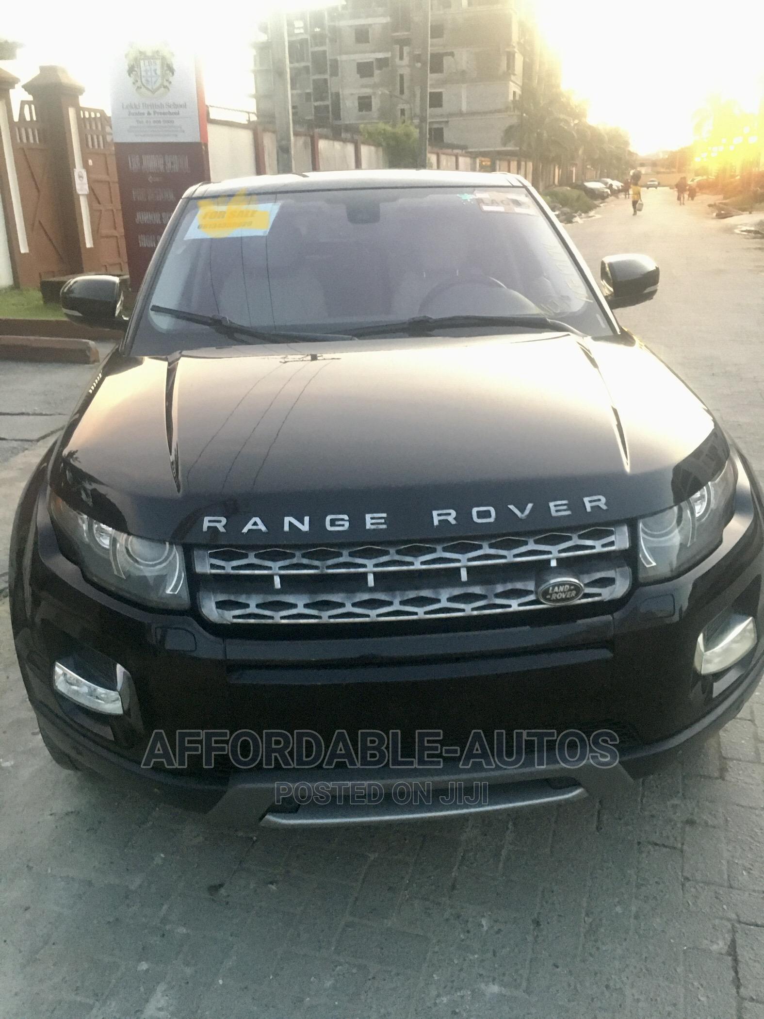 Land Rover Range Rover Evoque 2013 Pure Plus AWD Black | Cars for sale in Lekki, Lagos State, Nigeria
