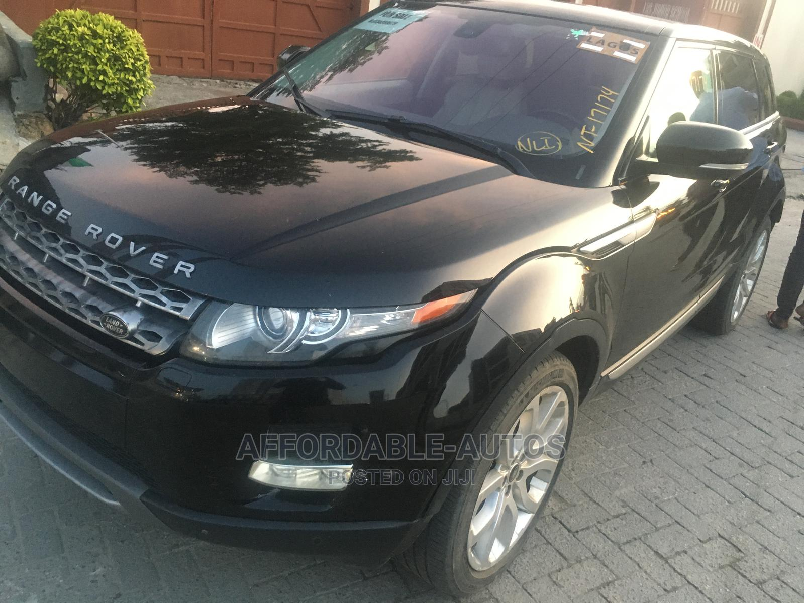Land Rover Range Rover Evoque 2013 Pure Plus AWD Black