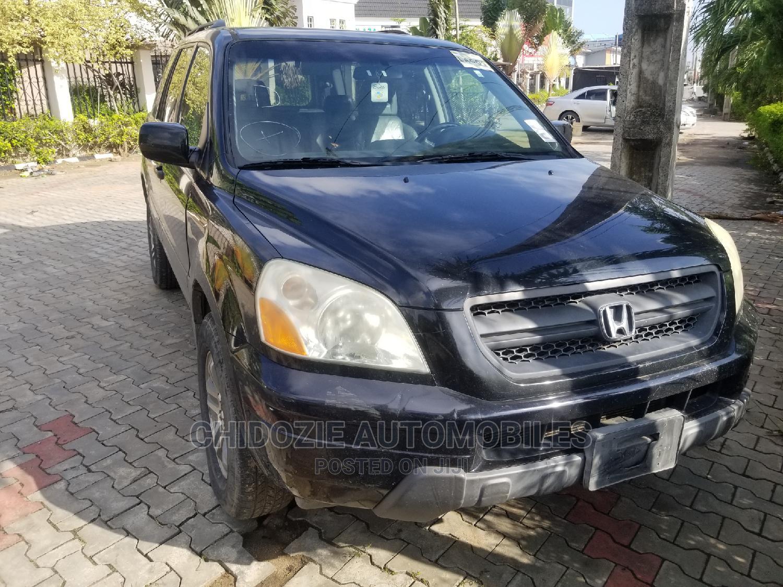 Honda Pilot 2005 EX-L 4x4 (3.5L 6cyl 5A) Black | Cars for sale in Amuwo-Odofin, Lagos State, Nigeria