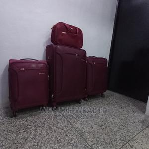 Competent Swiss Polo Trolley Luggage Oxblood Red Bag   Bags for sale in Lagos State, Ikeja