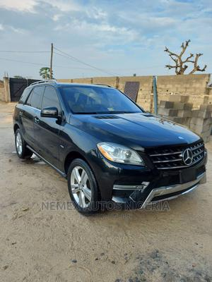 Mercedes-Benz M Class 2012 ML 350 4Matic Black | Cars for sale in Lagos State, Ajah