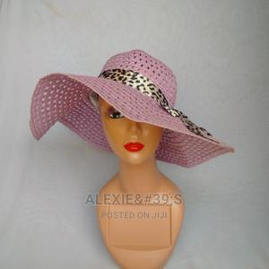 Net Beach Hat for Women - Mauve | Clothing Accessories for sale in Abuja (FCT) State, Kubwa