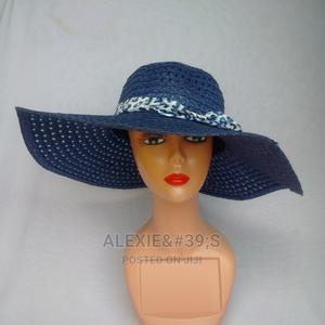 Net Beach Hat for Women - Blue | Clothing Accessories for sale in Abuja (FCT) State, Kubwa