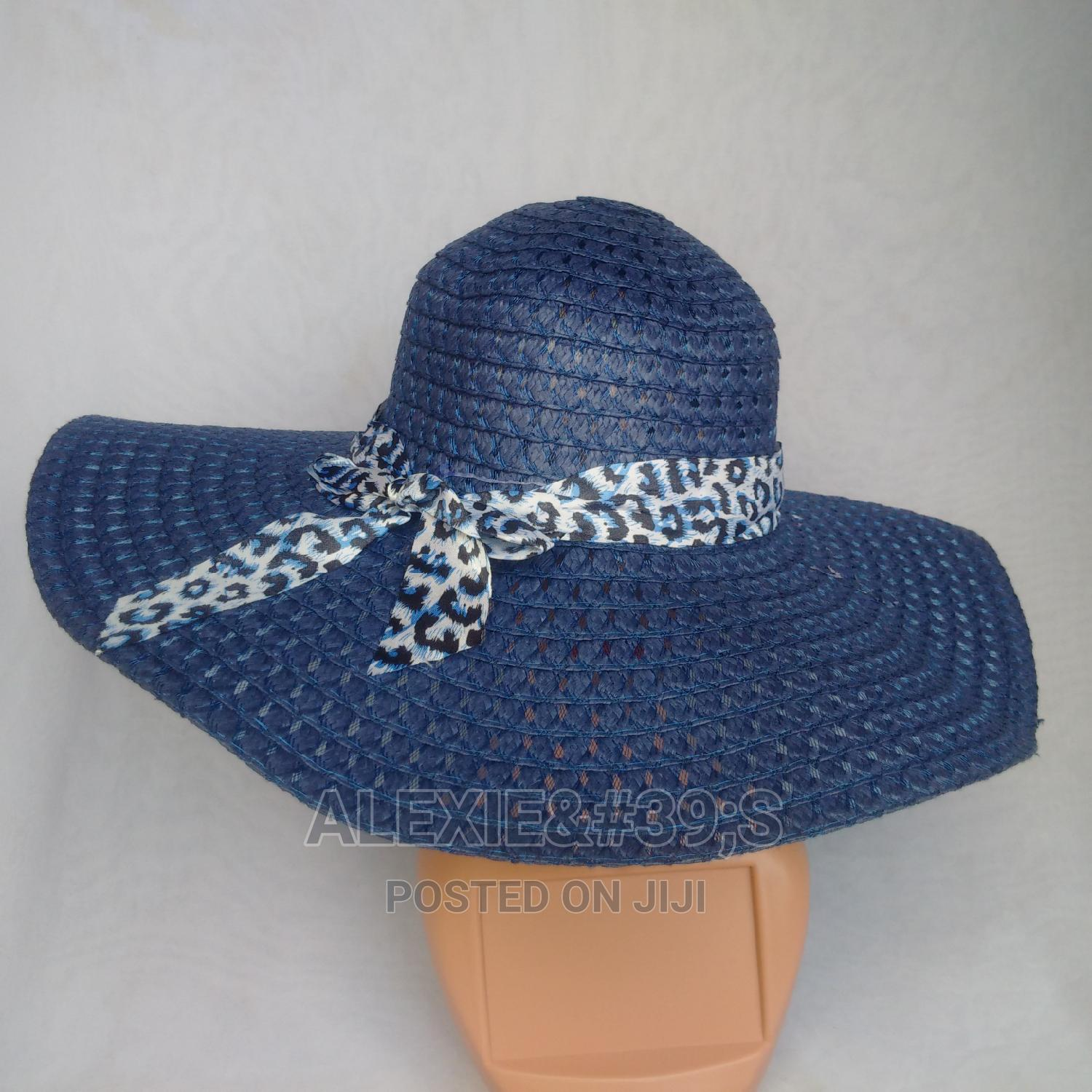 Net Beach Hat for Women - Blue | Clothing Accessories for sale in Kubwa, Abuja (FCT) State, Nigeria