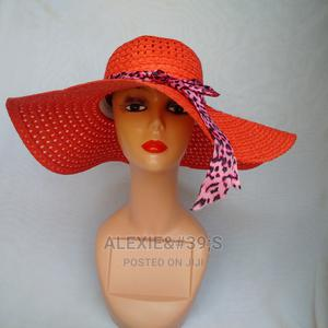 Net Beach Hat for Women - Red | Clothing Accessories for sale in Abuja (FCT) State, Kubwa