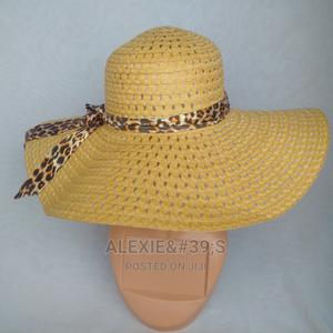 Net Beach Hat for Women - Brown | Clothing Accessories for sale in Abuja (FCT) State, Kubwa