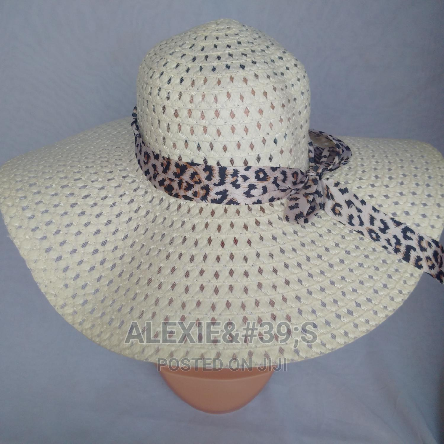 Net Beach Hat for Women - Off-White Colour   Clothing Accessories for sale in Kubwa, Abuja (FCT) State, Nigeria