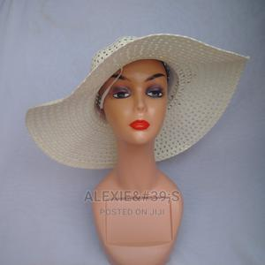 Net Beach Hat for Women - Off-White Colour | Clothing Accessories for sale in Abuja (FCT) State, Kubwa