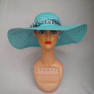 Net Beach Hat for Women - Turquoise | Clothing Accessories for sale in Abuja (FCT) State, Kubwa
