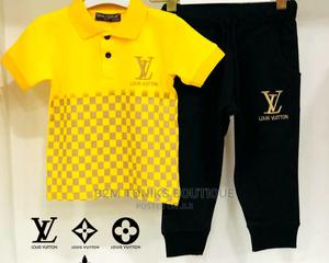 Yellow Kids LV Top/Trouser | Children's Clothing for sale in Lagos State, Oshodi