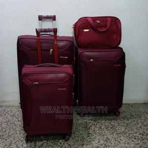 2 Pocket Swiss Polo Trolley Luggage Oxblood Red Bag   Bags for sale in Lagos State, Ikeja