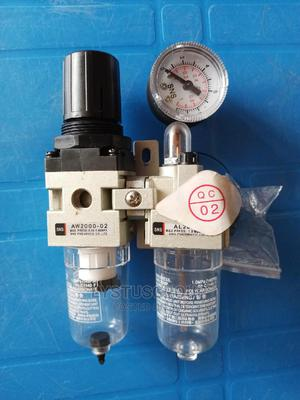 1/4 Inch Air Filter Set/ Separator / Regulator With Gauge | Measuring & Layout Tools for sale in Rivers State, Port-Harcourt