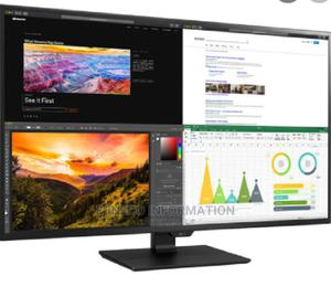 LG 42.5-Inch 16:9 4K Hdr Ips Monitor | Computer Monitors for sale in Lagos State, Ikeja