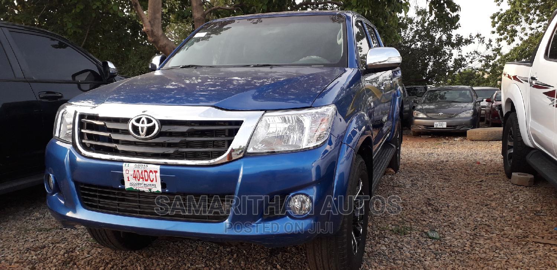 Toyota Hilux 2012 2.5 D-4d 4X4 SRX Blue