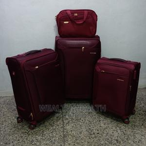 Cooperate Swiss Polo Trolley Luggage Oxblood Red Bag   Bags for sale in Lagos State, Ikeja