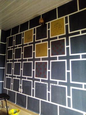 Basically on Painting and Installation of Wallpapers   Building & Trades Services for sale in Lagos State, Surulere