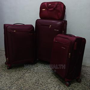 Supplier of Quality Rated Swiss Polo Trolley Luggage Red Bag   Bags for sale in Lagos State, Ikeja