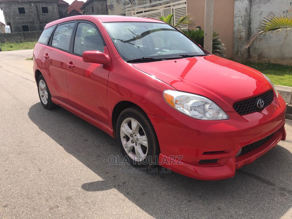 Archive: Toyota Matrix 2003 Red