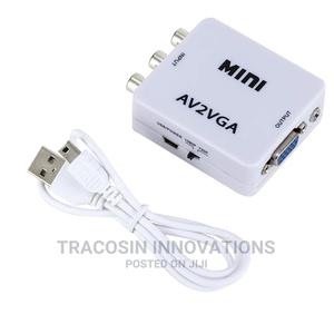 AV to VGA Mini Converter | Accessories & Supplies for Electronics for sale in Lagos State, Yaba