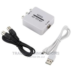 AV to RF Mini Converter | Accessories & Supplies for Electronics for sale in Lagos State, Yaba