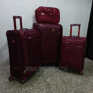Portable Swiss Polo Trolley Luggage Red Bag   Bags for sale in Lagos State, Ikeja