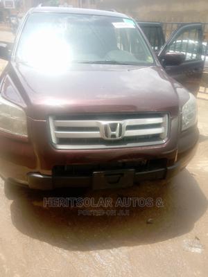 Honda Pilot 2007 LX 4x4 (3.5L 6cyl 5A) Purple   Cars for sale in Lagos State, Ojodu