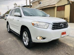 Toyota Highlander 2008 Limited 4x4 White | Cars for sale in Lagos State, Ikeja