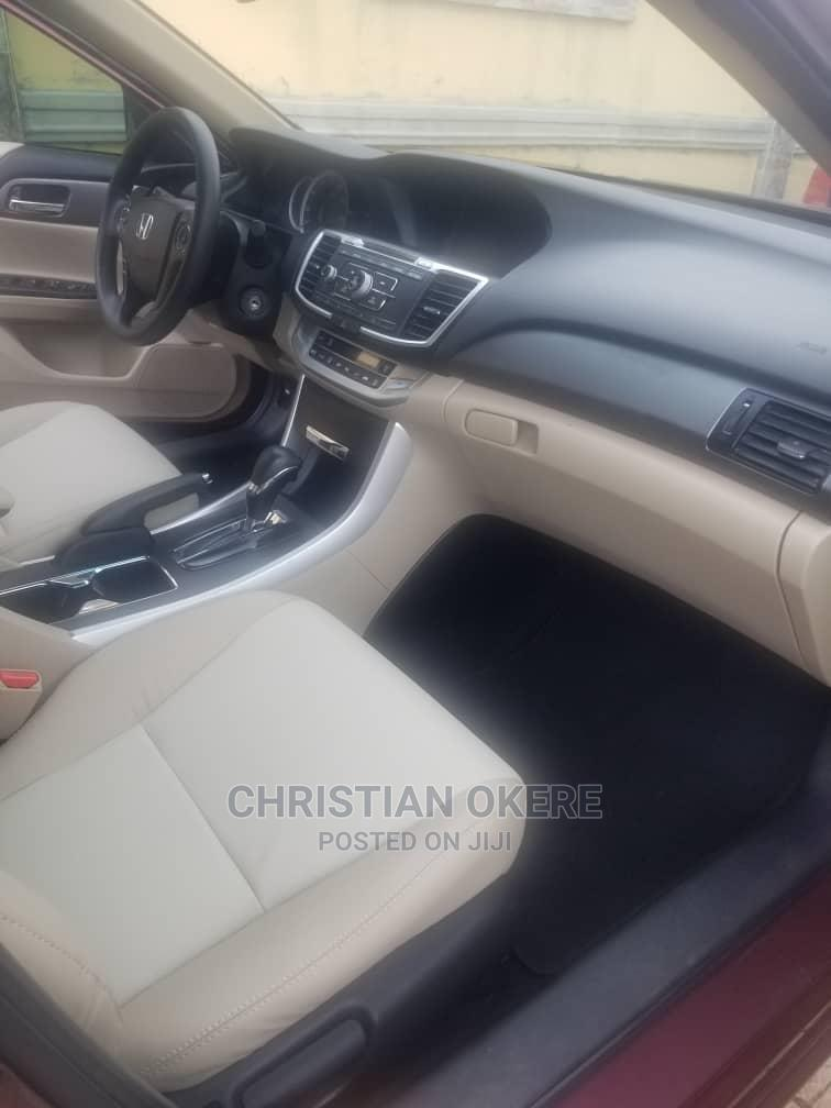 Honda Accord 2014 Red   Cars for sale in Alimosho, Lagos State, Nigeria