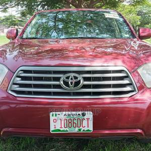 Toyota Highlander 2008 4x4 Red | Cars for sale in Abuja (FCT) State, Durumi