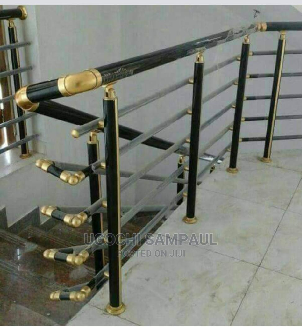 Archive: Stainless and Aluminum Railing and Accessories for Staircase