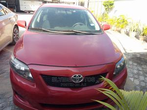 Toyota Corolla 2008 Verso 1.8 VVT-i Automatic Red | Cars for sale in Lagos State, Ajah