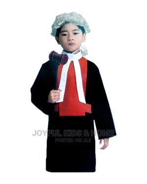 Female Court Judge Costume -Black , White and Red | Children's Clothing for sale in Lagos State, Ojota
