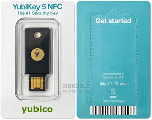 Yubico - Yubikey 5 NFC - Two Factor Authentication USB | Security & Surveillance for sale in Lagos State, Ikeja