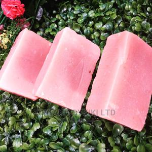 Strawberry Face Whitening Bar Soap | Bath & Body for sale in Lagos State, Surulere