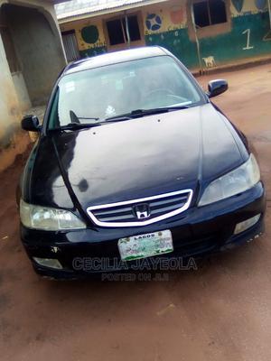Honda Accord 2002 EX Black | Cars for sale in Ogun State, Ipokia