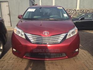 Toyota Sienna 2010 XLE 7 Passenger Red | Cars for sale in Lagos State, Ojodu